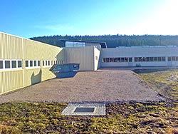 Hallenanbau Firma A. Maier Peterzell