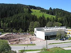 Hallenanbau Bruker und Günter, Tennenbronn
